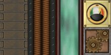Animated Steampunk Textures - 1