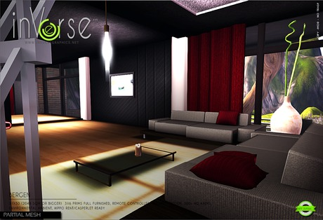 inVerse® - Bergen - full furnished animated house skybox 500+ anims