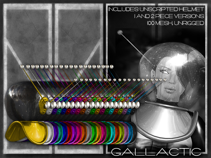 GALLACTIC: Space Helmet - All Colors