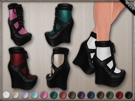 DN Mesh: Gab Shoes w HUD
