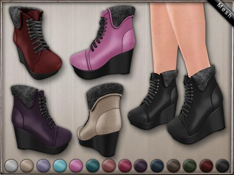 DN Mesh: Tay - Boots w HUD