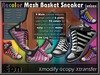 Recolor Mesh Basket Sneakers (male) ..:: EON ::..
