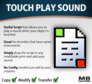 Play Sound On Touch (full permission)