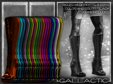 GALLACTIC: Circuit Knee Boots - All Colors