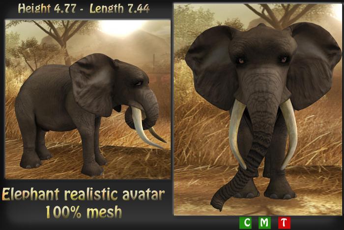 Avatar Elephant ***Mesh***