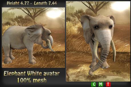 Avatar White Elephant ***Mesh***
