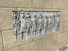 Ancient Art - Roman men relief