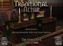 DM Traditional Altar w/linens