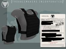 [TRB] Women's Plate Carrier Vest: Black