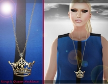 ..:: Bens Beauty ::.. King & Queen Crown Necklace