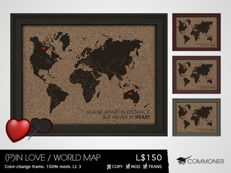 [Commoner] (P)in Love / World Map