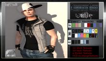 [M.o.w] Male [Complete Vest]  -WHITE- (Bag Wear)