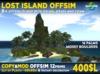 LOST ISLAND - Real offsim island 12 prims MOD COPY