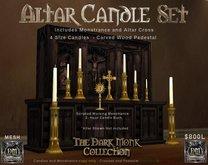 DM Altar Candle Set