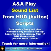 A&A Play Sound List from HUD Scripts, boxed