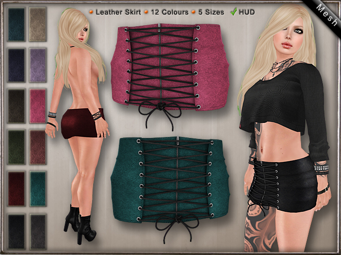 DN Mesh: Uma Skirt [DEMO]