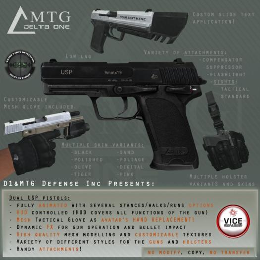 D1&MTG - Dual USP CCS, VICE, RP, LLCS