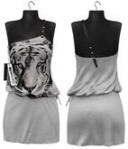 Maitreya Dakota Dress * Tiger Print