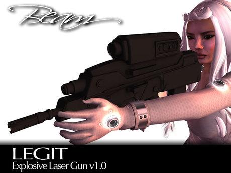 BEAM - LEGIT - Explosive Laser Raygun v1.0