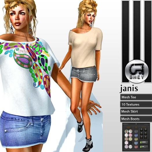 SHEY - Janis Mesh Set