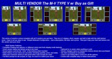 M-V TYPE V With Buy as Gift Button Option