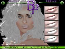 Beautiful Freak - Basic neutral Lipstick - gloss - white