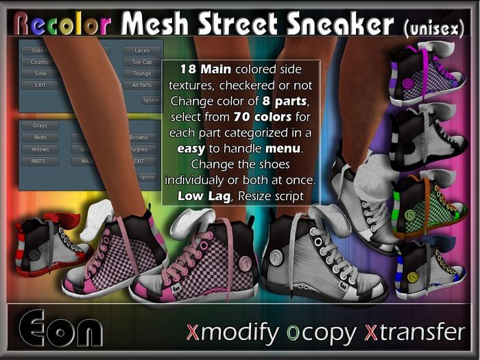 Recolor Mesh Street Sneakers (female) ..:: EON ::..