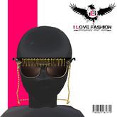 {*I <3FashiOn*} Sunglasses Deluxe (Black)