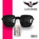 {*I <3 FashiOn*} Divas Sunglasses - Black(MESH)
