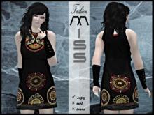 MissAvi Trendy Gothic Noble Dress h
