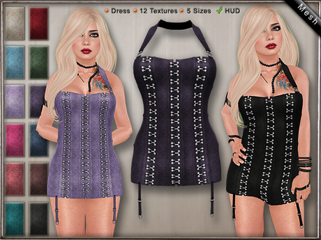 DN Mesh: Xia Dress [DEMO]