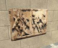 Ancient art - Relief of Greek warriors