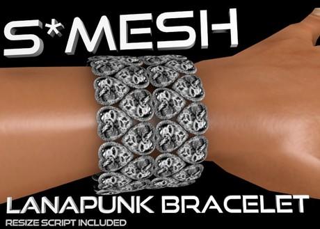 S*MESH - L-Punk Bracelet