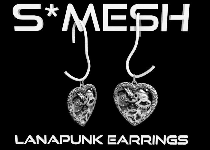 S*MESH - L-Punk Earrings