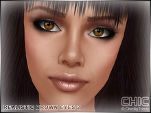 !CHIC! Realistic Brown Eyes 2