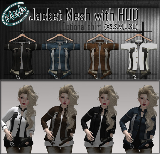 NS:: Jacket Mesh with HUD