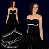 [K~*~S] Seraph - Gown - Onyx