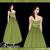 [K~*~S] Daphne - Gown - Spring Leaves