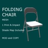 Folding Chair - Mesh