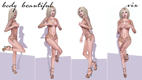 (.vix) body beautiful pose pack