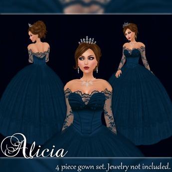 [K~*~S] Alicia - Gown - Ocean