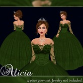 [K~*~S] Alicia - Gown - Forest