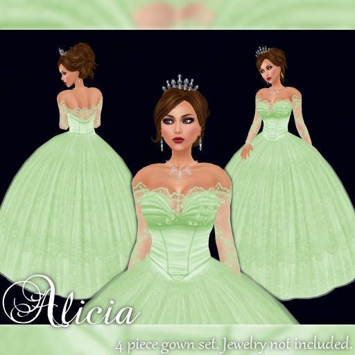 [K~*~S] Alicia - Gown - Mint