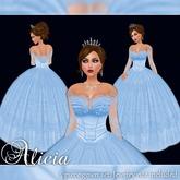 [K~*~S] Alicia - Gown - Sky