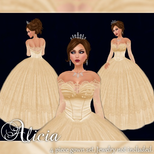 [K~*~S] Alicia - Gown - Goldenrod