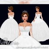 [K~*~S] Alicia - Gown - Snow