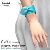 Elemiah Design - Cuff 01 turquoise