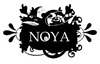 Official noya logo black white