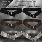 DE Designs - Camarena Belts - Multipack