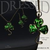 ::DBL:: Shamrock Pie Emerald Jewelry Set